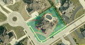 Photo of Measured Property from Go iLawn.com