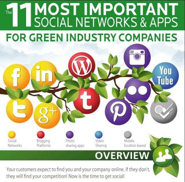 Social Media Infographic LLeadersp