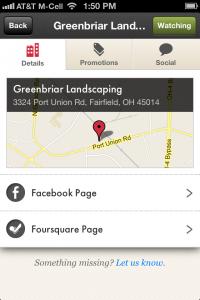 Landscape Contractor Result On Perch App