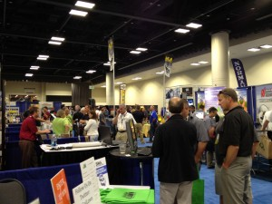 Go iLawn SIMA Booth 2013