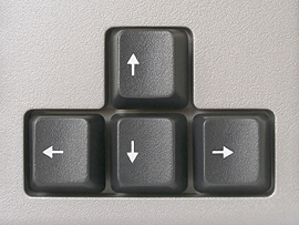 how to make an arrow on your keyboard