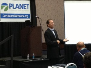 Mike Rorie speaking at PLANET GIC 2013