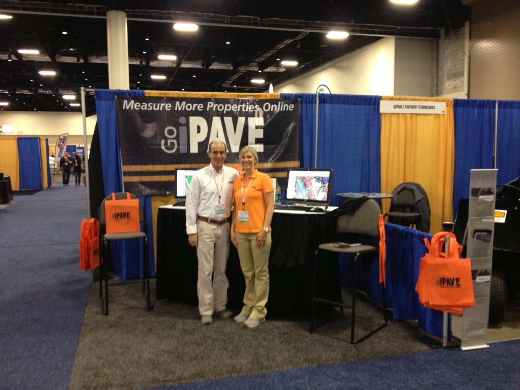 Chris and Alle at NPE Booth
