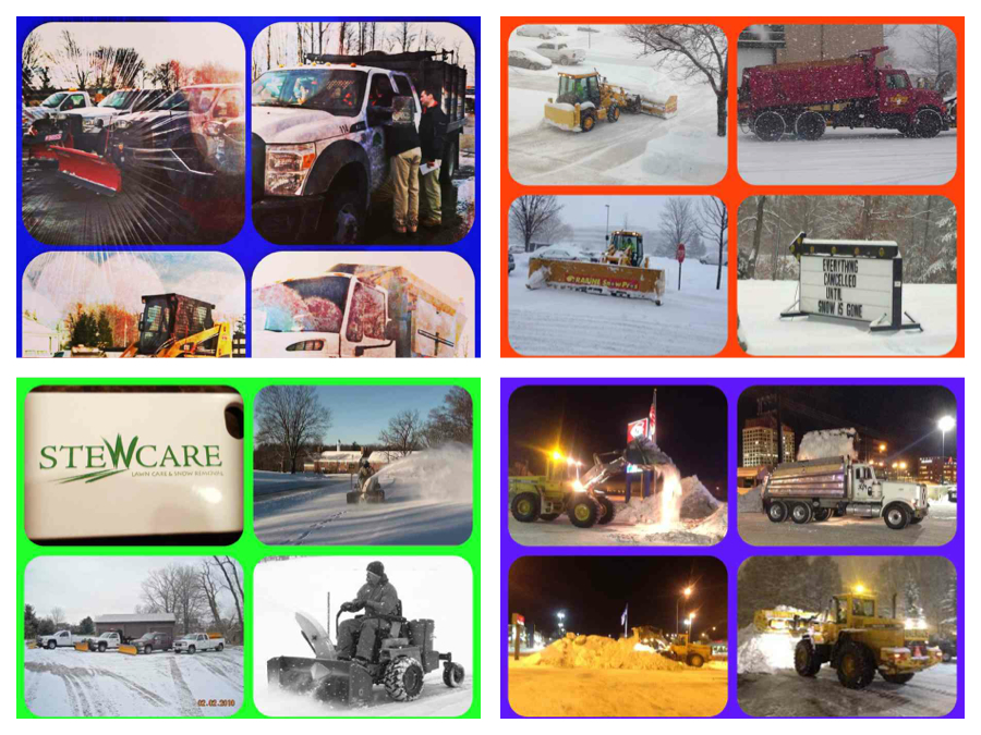 Go iLawn and Go iPave Customer Snow Removal Pictures