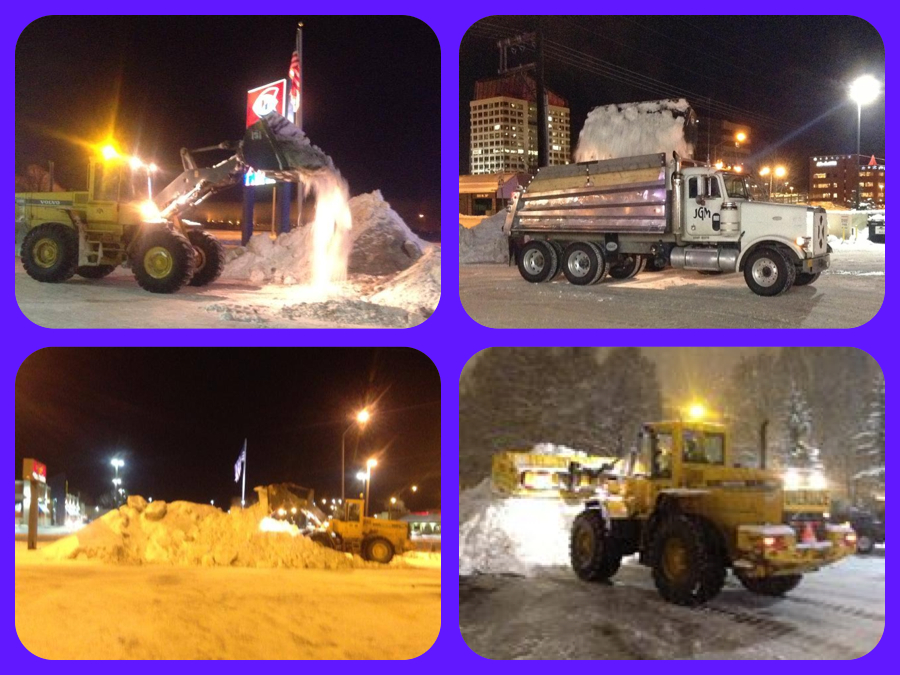 Jeffco snow removal collage