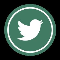 green twitter icon