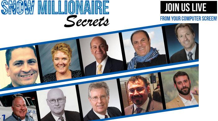 Snow Millionaire Secrets Summit
