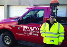Frankie Ippolito, Owner of Ippolito Snow Services. Photo Credit Go Plow.com