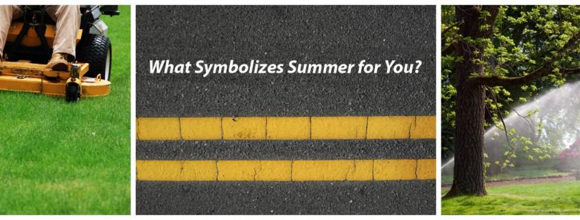 Summer Symbols Go iLawn Go iPave eBook