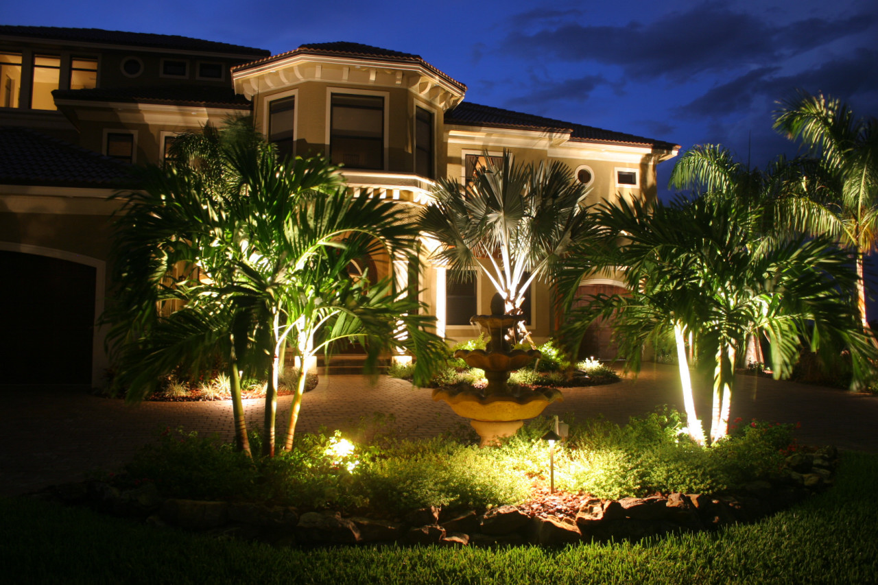 3 ideas to help you sell landscape lighting services go italk landscape lighting enhances property security use of orbit industries model lp740 can help your clients achieve a beautiful aesthetic and increase aloadofball Gallery