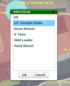 Go iLawn Snow Plowing Groups